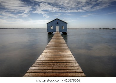 The Perth Crawley Edge Boatshed is really the most highly Instagram-able place. It is also known as the Blue Boat House in Perth City, Western Australia.
