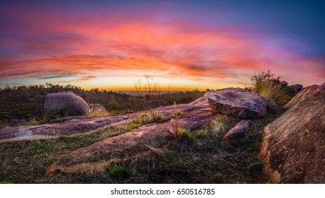 Perth Hills Sunset (Red Hill)