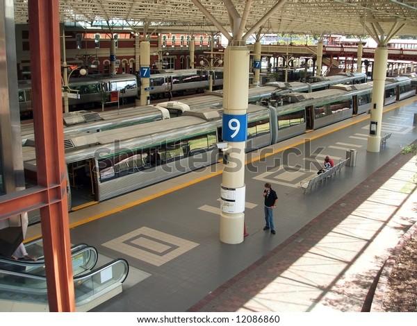 Perth Station, West Australia