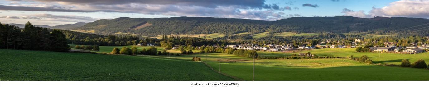 perthshire scotland panoramic