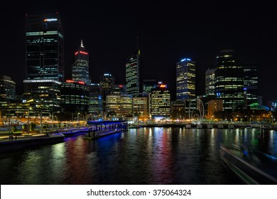 Perth,WA,Australia on 10th Feb 2016:Elizabeth Quay is a major Western Australian development project in the Perth CBD. Located on the north shore of Perth Water and centred on the landmark Swan Bells