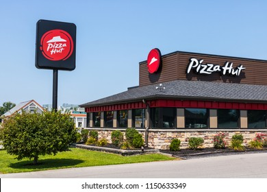 Peru - Circa August 2018: Pizza Hut Fast Casual Restaurant. Pizza Hut is a subsidiary of YUM! Brands I