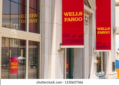 Peru - Circa August 2018: A Wells Fargo Retail Bank Branch. Wells Fargo may have accidentally foreclosed 400 homes due to a computer glitch VI