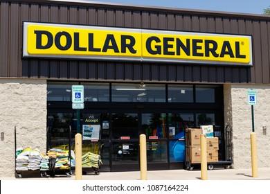 Peru - Circa May 2018: Dollar General Retail Location. Dollar General is a Small-Box Discount Retailer I