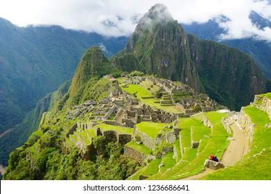 Peru Inca Machu Picchu world wonder