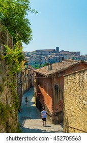 Perugia, an awesome medieval city, capital of Umbria region, central Italy