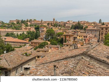 Perugia, Italy - Perugia is one of the most interesting cities in Umbria, with its medieval Old Town, the narrow alleys and its famous aqueduct