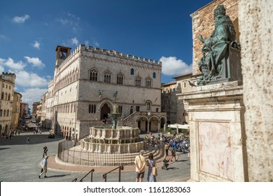 Perugia main square