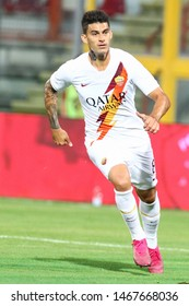 Perugia (PG), Italy - July 31,2019: Diego Perotti during friendly football match between Perugia vs AS Roma at the Renato Curi Stadium in Perugia.