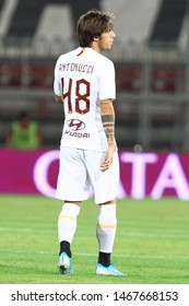 Perugia (PG), Italy - July 31,2019: Mirko Antonucci during friendly football match between Perugia vs AS Roma at the Renato Curi Stadium in Perugia.