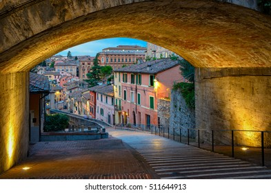 Perugia Via dell Acquedotto