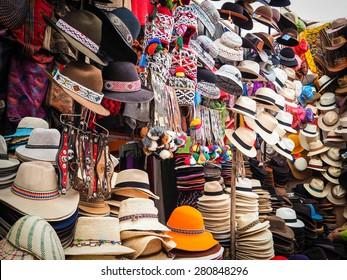 Peru's local hat from Pisa Market