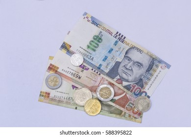 Peru currency images stock photos vectors shutterstock peruvian bank notes nuevos soles currency from peru money coins altavistaventures Images
