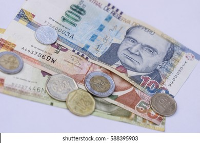 Peru currency images stock photos vectors shutterstock peruvian bank notes nuevos soles currency from peru money coins altavistaventures Image collections