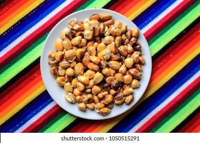 "Peruvian Food ""Cancha"""