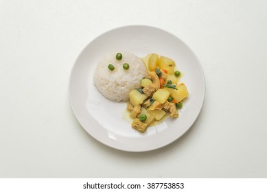 Peruvian food: Cau cau de Mondongo.