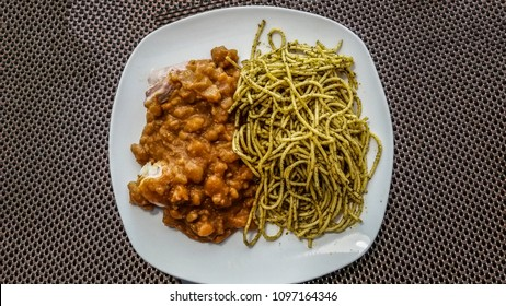 Peruvian food: Sopa Seca