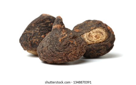 Peruvian ginseng or maca (Lepidium meyenii), dried root and slice