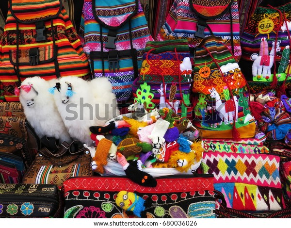 Peruvian handicrafts market