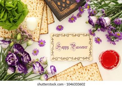 Pesah celebration concept (jewish Passover holiday)