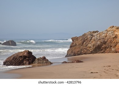 Pescadero State Beach is a beach located 14.5 miles south of Half Moon Bay and 1.5 miles east of Pescadero off State Route 1