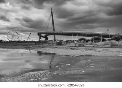 Pescara a new bridge to go into town