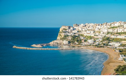 Peschici, the beautiful town in the Apulia region, south of Italy