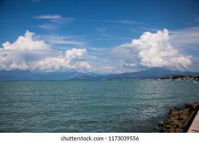 peschiera del garda, lake in italy