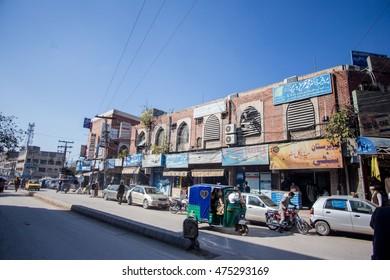 PESHAWAR, PAKISTAN - AUG 21: dabgari garden Medical Place north site, on 21 AUG, 2015 Peshawar.