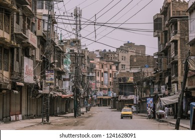 Peshawar, Pakistan - June 10, 2018: Daily Life on the Peshawar Streets