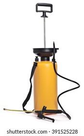 Pesticide sprayer,isolated on white background.