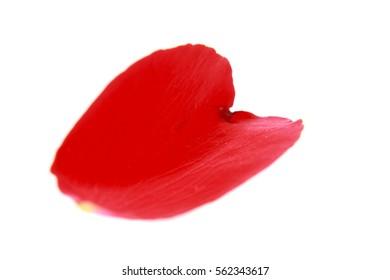 Petal red roses