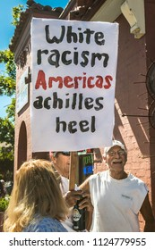 Petaluma, CA/USA-June 30, 2018: Keep Families Together March
