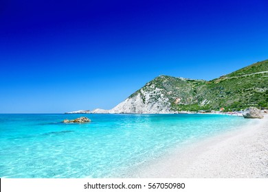 Petani beach, Kefalonia, Greece.