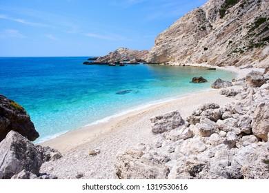 Petani Beach in Kefalonia, Ionian Islands, Greece