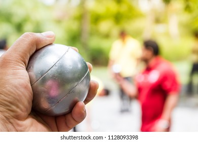 Petanque, can be played to relax.