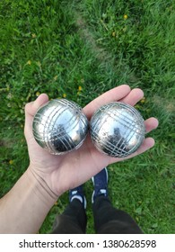 petanque game from france with steel ball for playing bowling