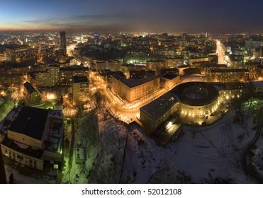 Petchersk panorama in the Kiev