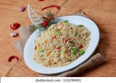 pete fried rice The ingredients used are pete and fried rice with spices such as fine garlic and some secret spices