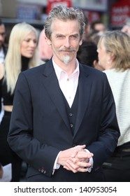 Peter Capaldi arriving for the World War Z World Premiere, at Empire Leicester Square, London. 02/06/2013