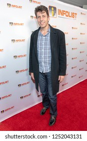 Peter Cornwell attends INFOList.com Red Carpet Re-Launch Party & Holiday Extravaganza! at SKYBAR at the Mondrian Hotel, Los Angeles, California on December 5th, 2018