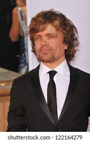 Peter Dinklage at the 64th Primetime Emmy Awards at the Nokia Theatre LA Live. September 23, 2012  Los Angeles, CA Picture: Paul Smith