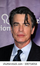 "Peter Gallagher at the 20th Anniversary Alzheimer's Association ""A Night at Sardi's,"" Beverly Hilton Hotel, Beverly Hills, CA 03-21-12"