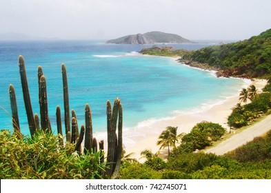 Peter Island beach, British Virgin Islands
