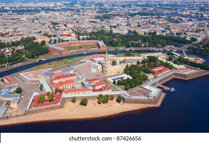 Peter and Paul Fortress in Saint Petersburg, Russia