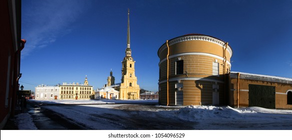 Peter and Paul fortress in Saint-Petersburg, Russia - Shutterstock ID 1054096529