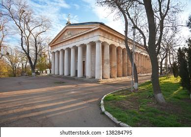 Peter and Paul orthodox church in Sevastopol. Crimea. Ukraine.