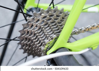 Peter Sagan Cannondale SuperSix Evo limited edition bike parts. A bicycle chain is a roller chain that transfers power from the pedals to the drive-wheel of a bicycle, thus propelling it.