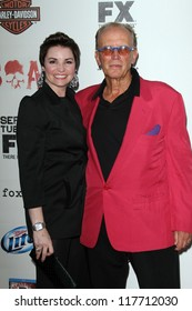 """Peter Weller at the """"Sons of Anarchy"""" Season 5 Premiere, Wadsworth Theater, Santa Monica, CA 09-08-12"""