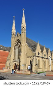 PETERBOROUGH, CAMBRIDGESHIRE/UK - September 27, 2018. Westgate New Church, Peterborough, Cambridgeshire, England